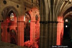 Luces en la catedral